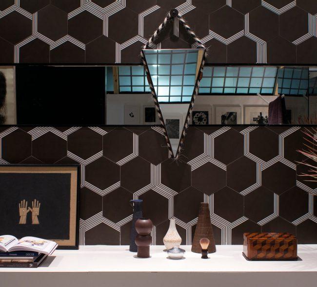 LONDON Black Matt 07 x 24 - Ceramic Wall Tile - Tile Mega Mart