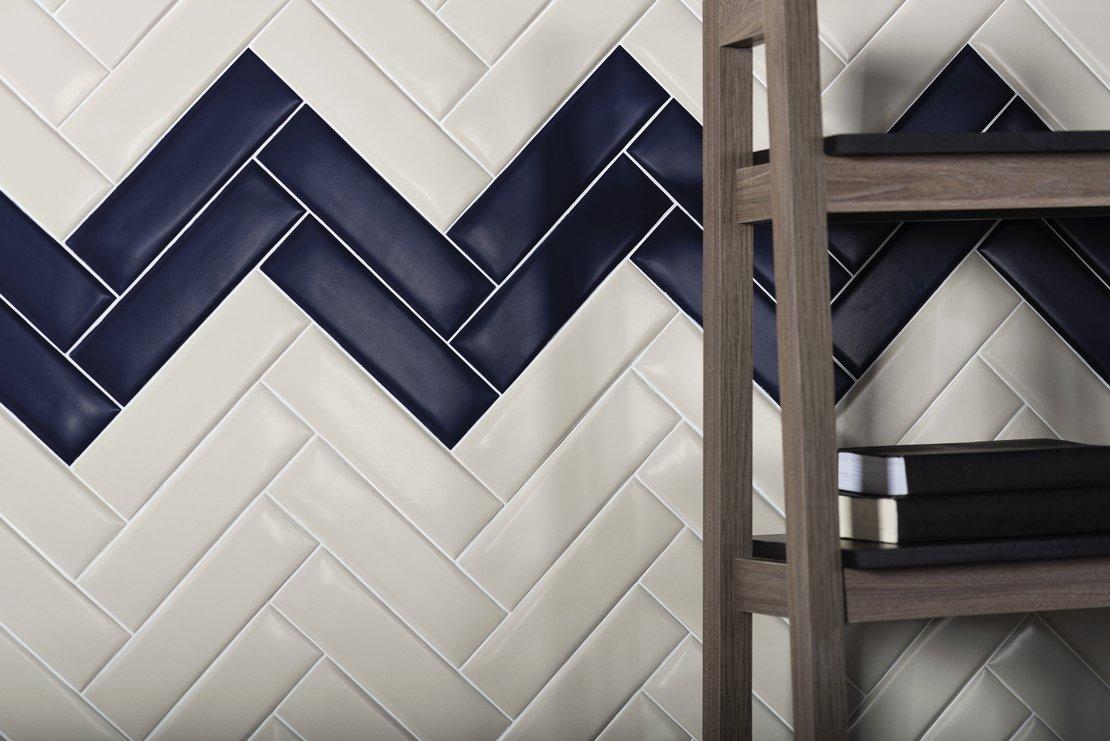 RIZ 03 Dark 10 X 18 - Ceramic Wall Tile - Tile Mega Mart